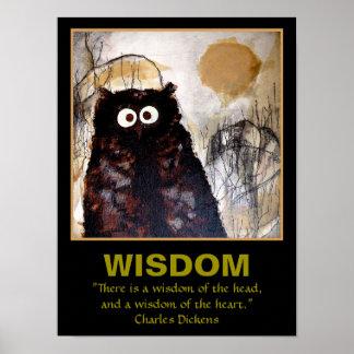 Sabiduría del arte del búho