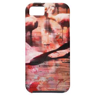 Sabiduría del flamenco iPhone 5 carcasas