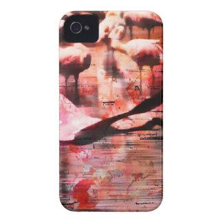 Sabiduría del flamenco iPhone 4 Case-Mate protectores
