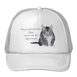 Sabiduría del gato - gente que no tiene gusto de g gorro