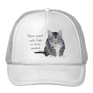 Sabiduría del gato - tiempo pasado con los gatos gorro de camionero
