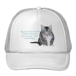 Sabiduría del gato - y amistad gorro