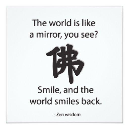 Sabiduría del zen - conseguimos lo que damos anuncios personalizados