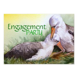"""""""SABIDURÍA, ejemplo del albatros intermediario"""" Invitación 12,7 X 17,8 Cm"""