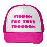 Sabiduría Gorros Bordados