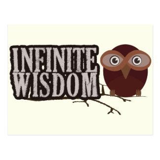 Sabiduría infinita postales