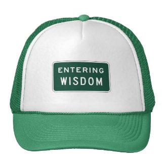 Sabiduría, marcador del camino, Montana, los Gorro De Camionero