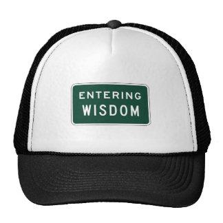 Sabiduría, marcador del camino, Montana, los Gorros