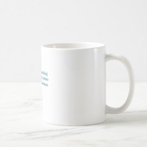 Sabiduría (taza del inodoro azul) taza