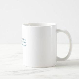 Sabiduría (taza del inodoro azul) taza de café