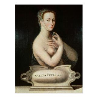 Sabina Poppaea, c.1570 Postcard