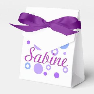 Sabine Favor Box