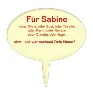Sabine o tarta Picker Para como era Tu nombre Decoración Para Tarta