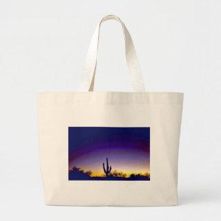 Sabino Canyon Arizona Sunset Tote Bags