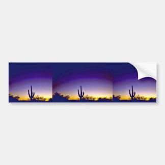 Sabino Canyon Arizona Sunset Bumper Stickers