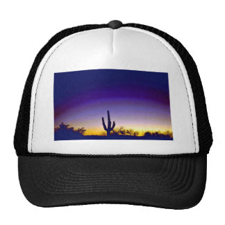 Sabino Canyon Arizona Sunset Trucker Hat