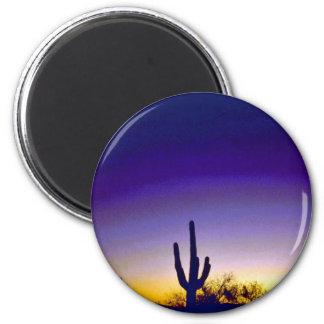 Sabino Canyon Arizona Sunset Fridge Magnet
