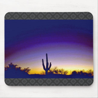 Sabino Canyon Arizona Sunset Mouse Pad