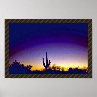 Sabino Canyon Arizona Sunset Print
