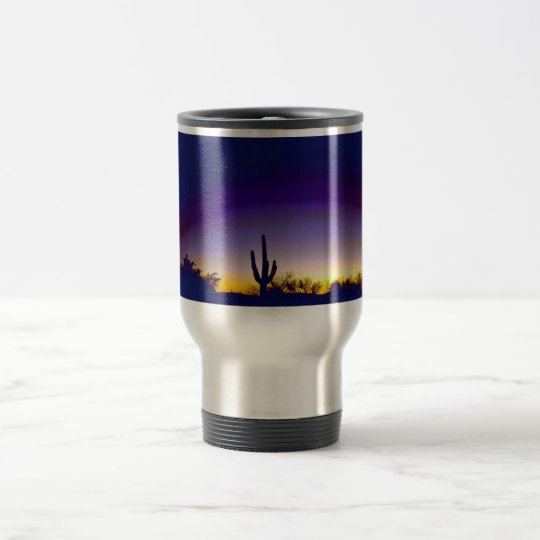Sabino Canyon Arizona Sunset Travel Mug