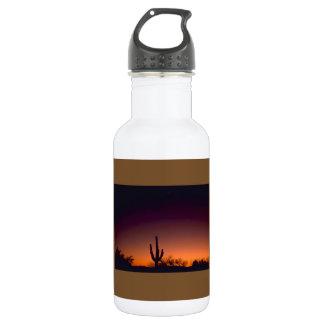 Sabino Canyon Sunset Arizona Water Bottle 18oz Water Bottle