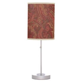 Sabio de Paisley, vino, lámpara de mesa de la mant
