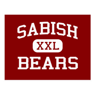 Sabish - Bears - Junior - Fond Du Lac Wisconsin Postcard