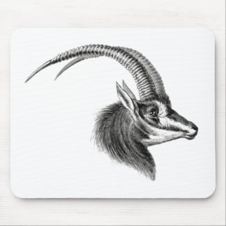 Sable Antelope Mouse Pad