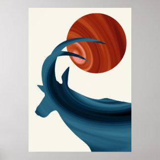 Sable Antelope Poster