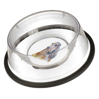 Sable English Cocker Spaniel Bowl