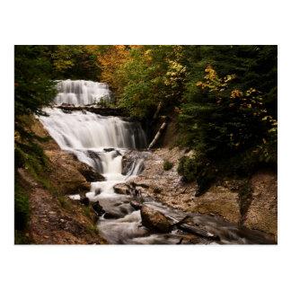 Sable Falls In Autumn Postcard
