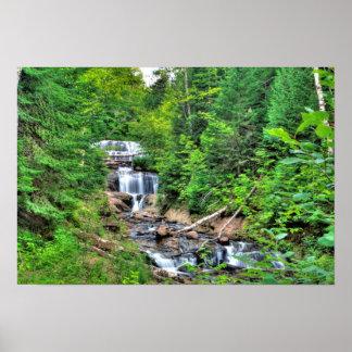 Sable Falls, Pictured Rocks Nat'l Lakeshore, MI Poster