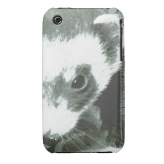 Sable Ferret Face Picture Blackberry Curve iPhone 3 Cover