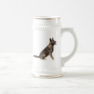 Sable German Shepherd Dog Beer Stein