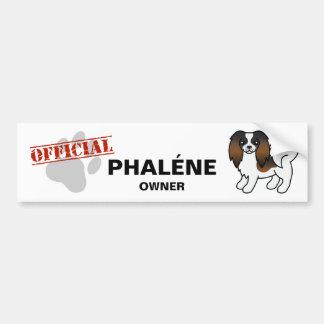 Sable Phalène Dog Bumper Sticker