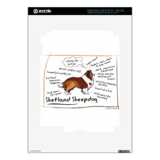 Sable sheltie skins for iPad 3