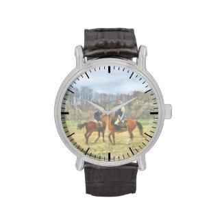 Sables de la travesía relojes de pulsera
