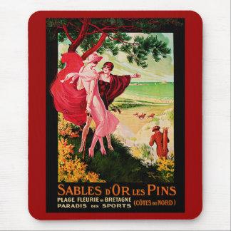 Sables d'Or Les Pins Mouse Pad