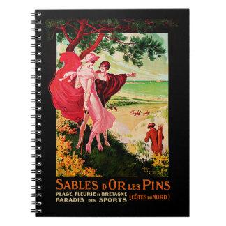 Sables d'Or les Pins Notebook