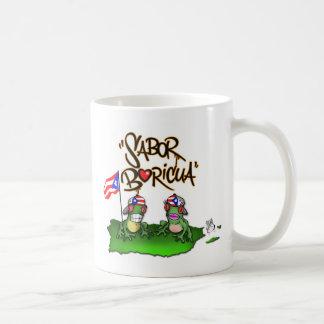 """Sabor Boricua """"Coqui"""" Mug"""