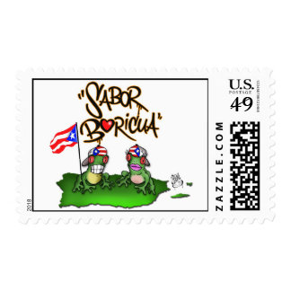Sabor Boricua Postage stamps