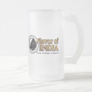 Sabor de la India Taza De Cristal