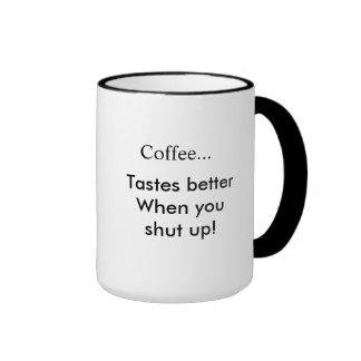 Sabor del café taza de dos colores