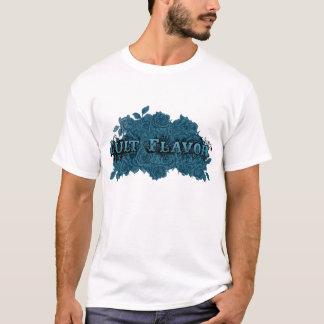 Sabor del culto: Camisa del cuello barco de la