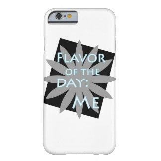 Sabor del día: Yo caja del teléfono celular Funda Para iPhone 6 Barely There