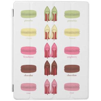 Sabores de LOUBOUTINS Y de MACARONS Cubierta De iPad