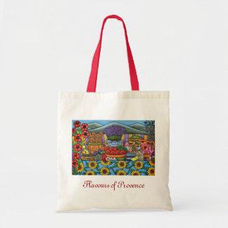 Sabores del bolso de compras de Provence de Lisa