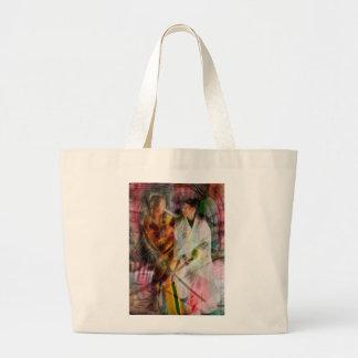 Sabre Dance Large Tote Bag