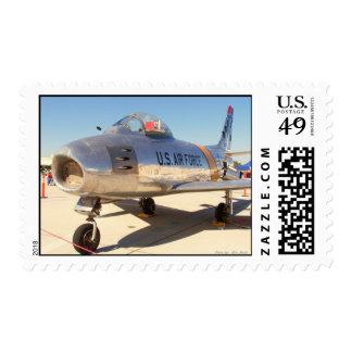 Sabre Jet - Korean War Postage