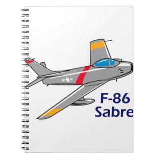 Sabre Jet Notebook